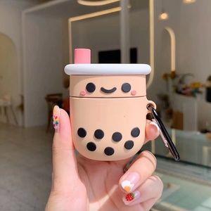 AirPods Case Cover Boba Tea Bubble Tea Milk Tea